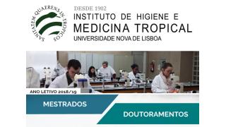 Chamada de Candidaturas aos Mestrados e aos Doutoramentos do IHMT NOVA
