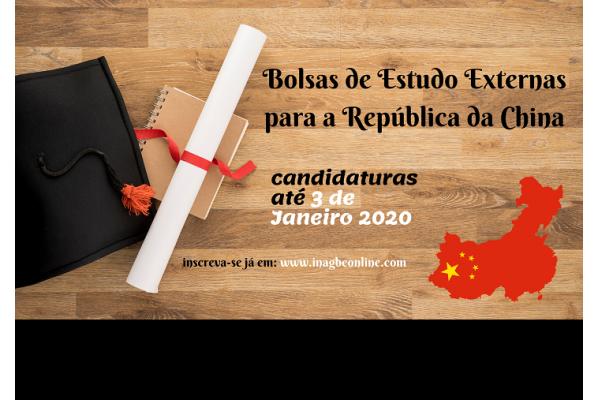 Oportunidade: Candidate-se às bolsas da China para 2020!