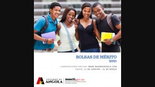 BOLSAS DE MÉRITO 2021: Candidaturas abertas de 11 de Janeiro a 31 de Março!