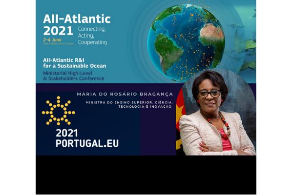 MESCTI representa Angola na Conferência de Alto Nível – All Atlantic 2021 e no Fórum de Alto Nível - Africa-Europe Space Earth Observation