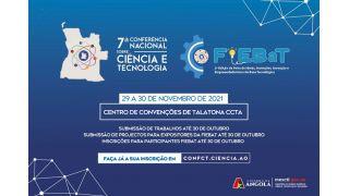 Participe na 7ª Conferência Nacional sobre Ciência e Tecnologia e na 2ª Edição da FIEBaT - Inscrições Abertas até o dia 30 de Outubro (Actualizado)