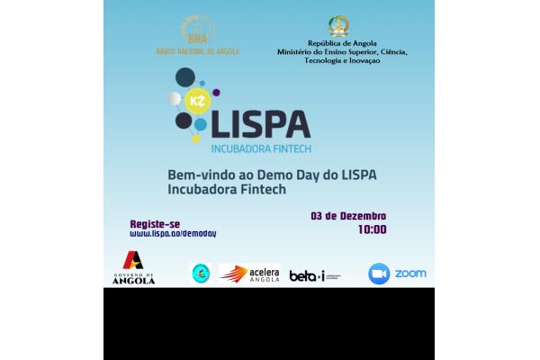 Registe-se e Participe no DEMO DAY do LISPA - 02 de Dezembro 2020