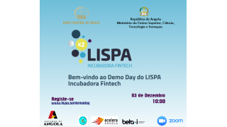 Registe-se e Participe no DEMO DAY do LISPA - 02 de Dezembro 2020