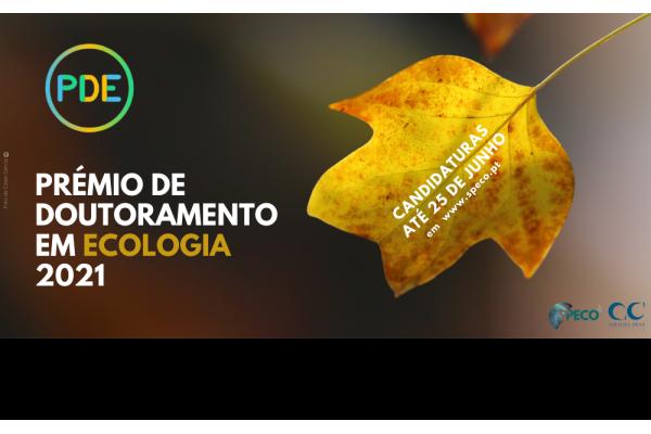 Candidaturas Abertas para o Prémio de Doutoramento em Ecologia 2021 - SPECO