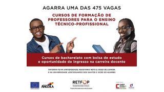 Oportunidade: Bolsa de Estudo para Cursos de Formação de Professores para o Ensino Técnico-Profissional