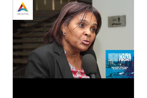 Assista hoje o Webinar do Air Centre sobre o Projecto Luanda Waterfront - Networking com a Prof.ª Dra. Filomena Vaz Velho