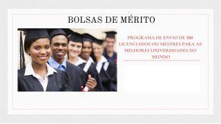 Adiamento e Tópicos: Prova de Conhecimento para Candidatura às Bolsas de Mérito