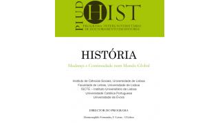 2.ª Fase de Candidaturas ao Programa Interuniversitário de Doutoramento em História
